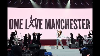 Download All Ariana Grande's songs during One Love Manchester concert Mp3 and Videos