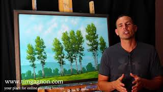 FREE FULL PAINTING LESSON TUTORIAL with Tim Gagnon