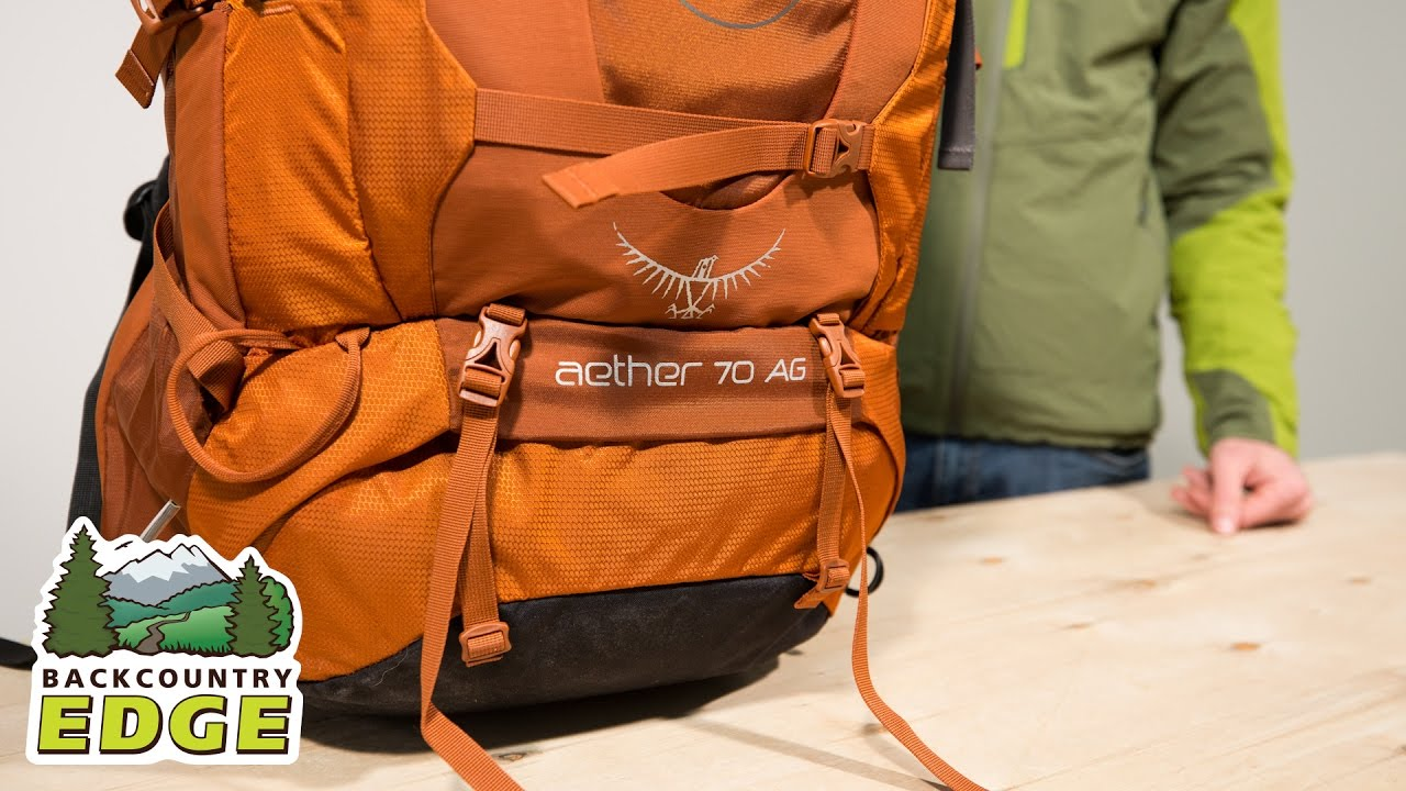 73f1ed56b53 Osprey Aether AG 70 Internal Frame Backpack - YouTube