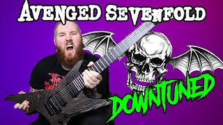 what if avenged sevenfold tuned down? waking the fallen medley