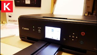 Canon TS5050 Printer 3in1 with WiFi Unboxing