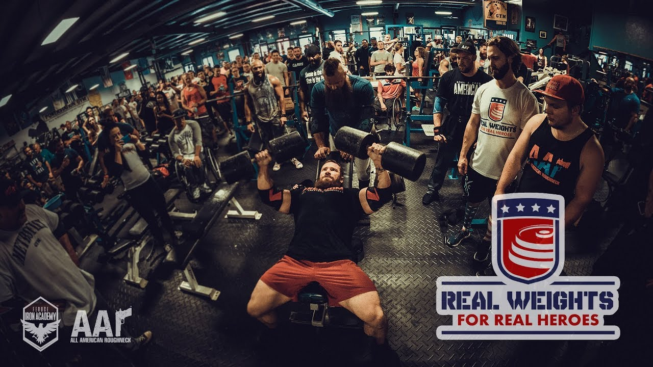 Seth feroce at the real weights for real heros semper fi for Semper fi fund rating