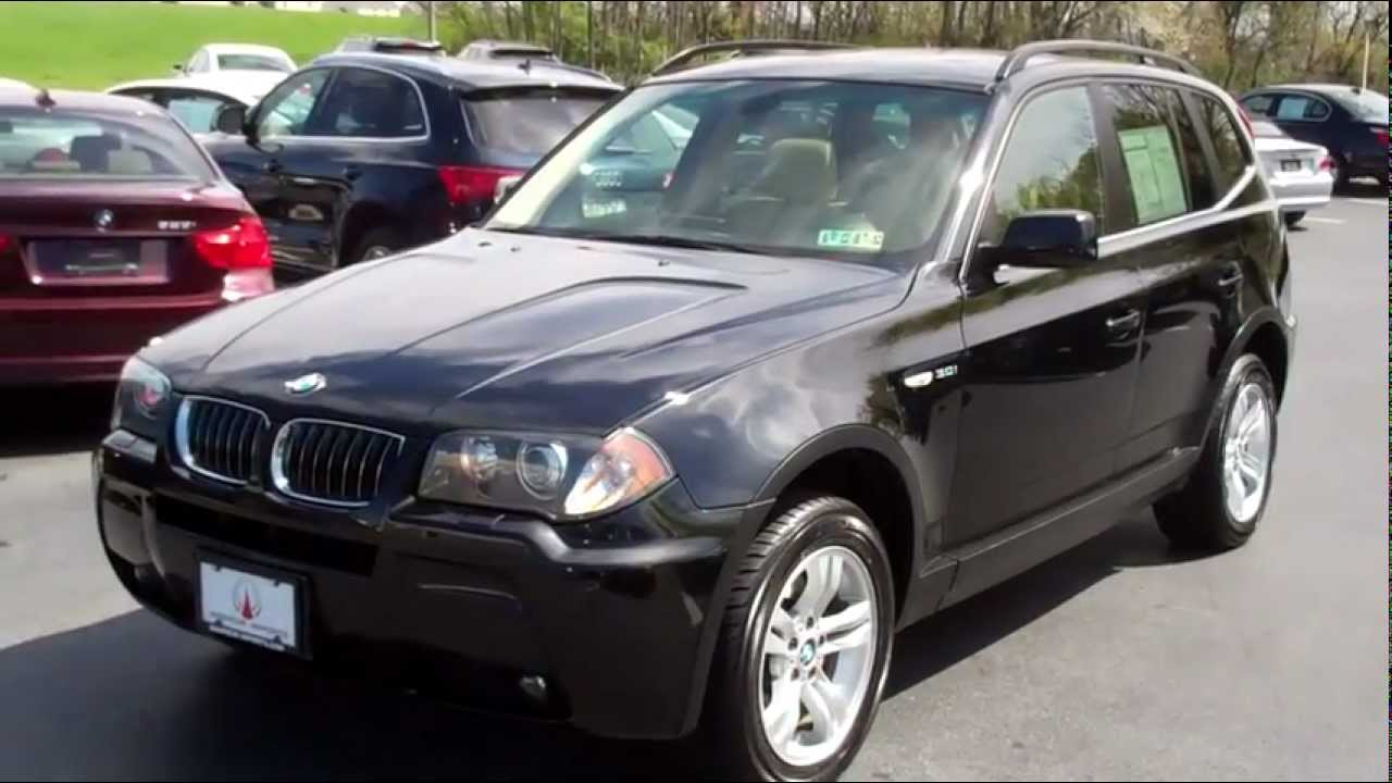 2006 bmw x3 awd navigation manheim imports youtube. Black Bedroom Furniture Sets. Home Design Ideas