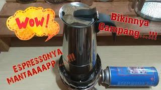 Cara Membuat Espresso Dengan Moka Pot