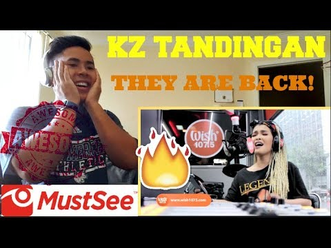 "KZ Tandingan covers ""Two Less Lonely People In The World"" REACTION! (OMG SHE IS BACK!)"