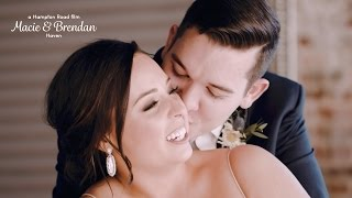 One Year After Their First Date ... A Downtown Warehouse Wedding // Macie & Brendan (4K Wedding)