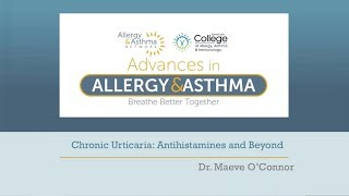 Chronic Urticaria: Antihistamines and Beyond