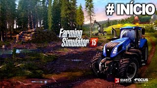 FARMING SIMULATOR 2015: # Parte 1 - XBOX 360 - [Aprendendo o básico] Totalmente em Português PT-BR.