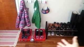 Organizing Children Shoes+coats- Entryway- Collab: Favorite Organized Children Spaces!