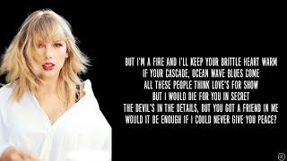 Taylor Swift - PEACE (Lyrics)