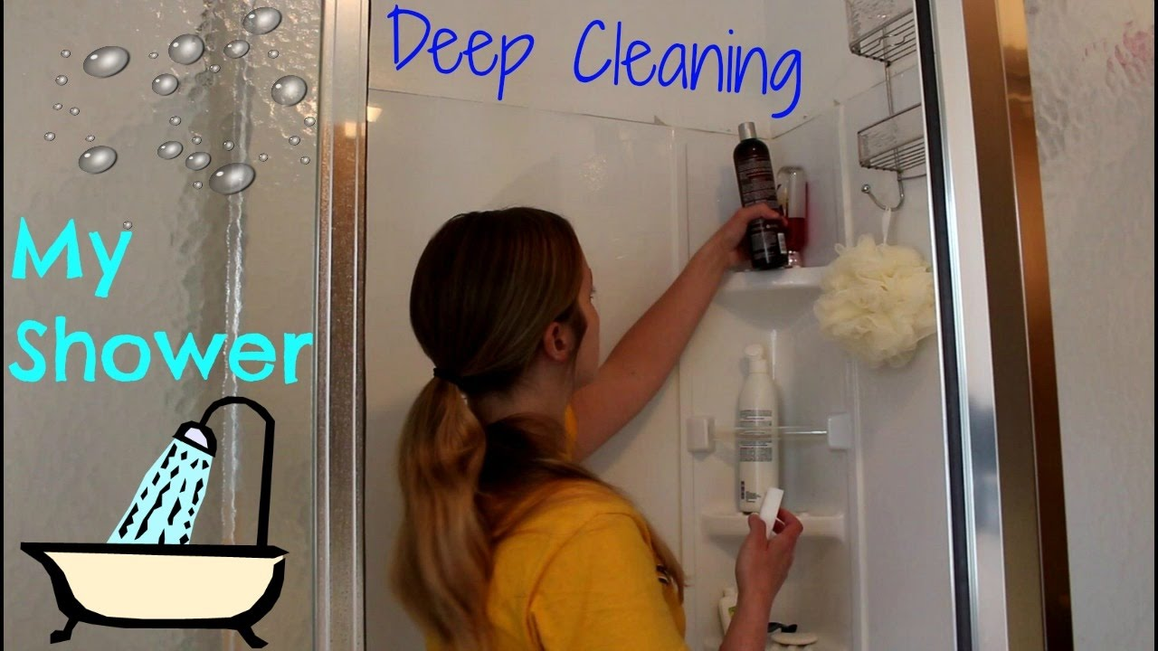 Deep Cleaning My Stand Up Shower Brandy Crawford You