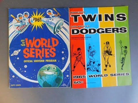 Strat-O-Matic Baseball Card&Dice 1965 World Series Dodgers vs Twins Game 4