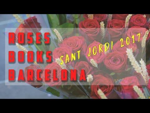 Barcelona is BEAUTIFUL - Roses & Books on Sant Jordi 2017