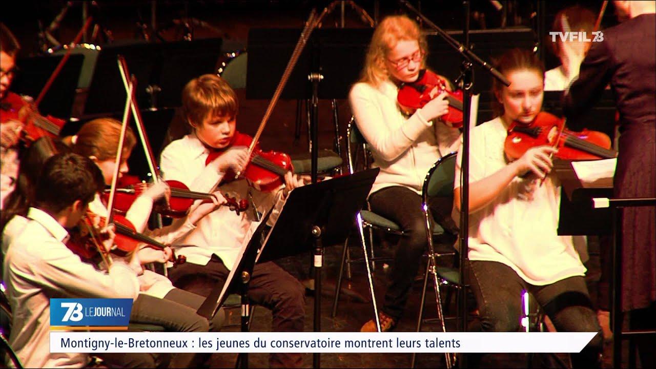 Montigny-le-Bretonneux : les jeunes du conservatoire montrent leurs talents