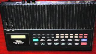 Yamaha RX17 Drum Machine Sounds and Patterns