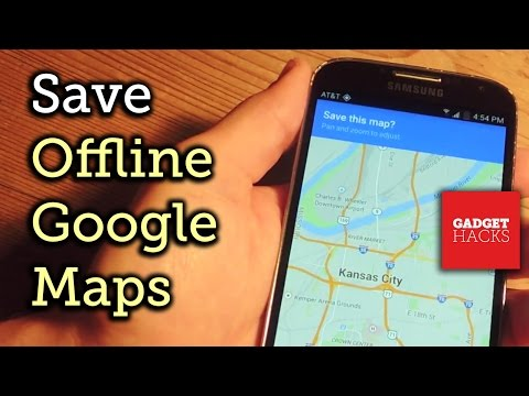 Save Your Google Maps for Offline Use on Android & iOS [How-To]