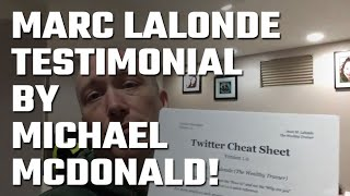 🎥 Testimonial by Michael McDonald