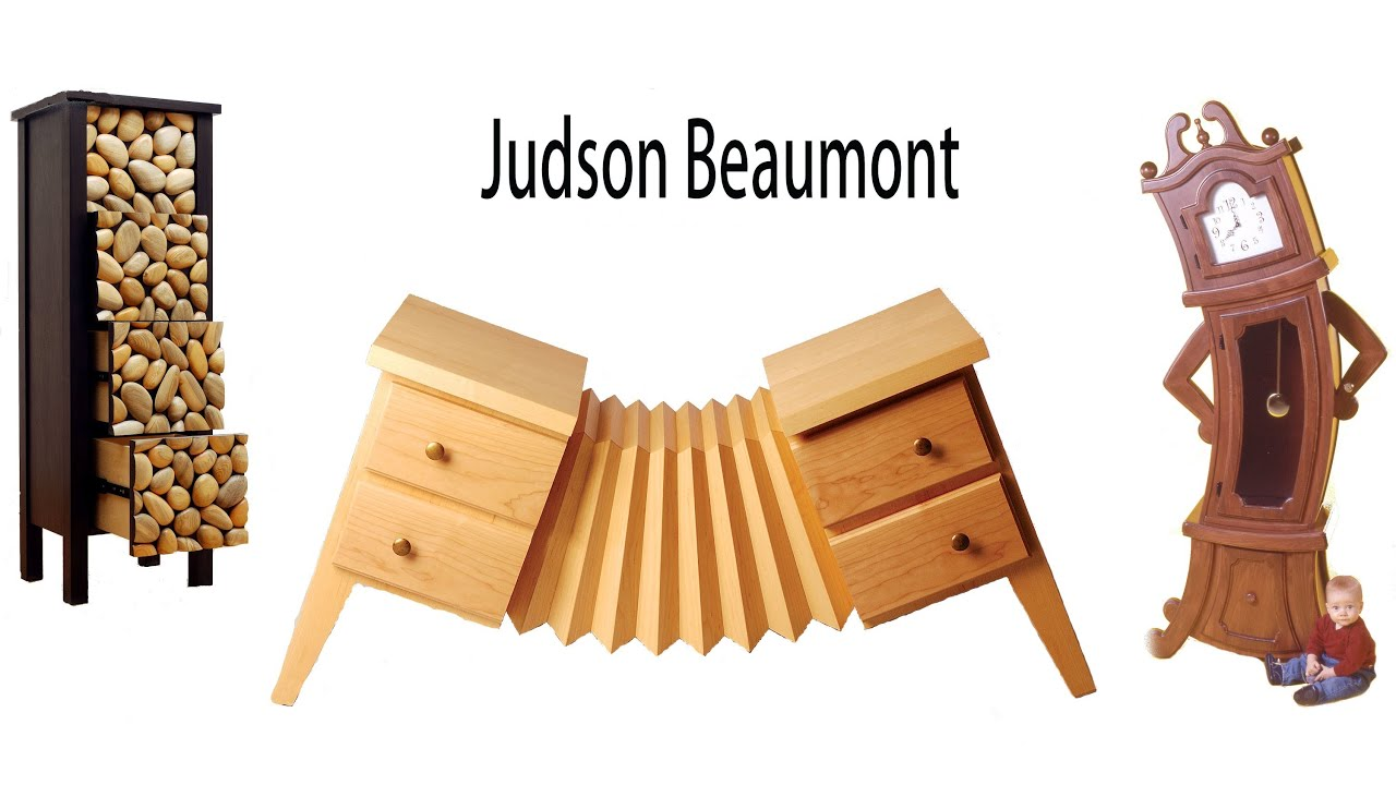 Woodwork shop tour of judson beaumont a for Woodworks design office 9
