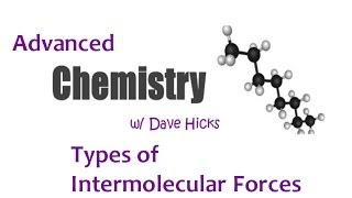 Intermolecular forces types