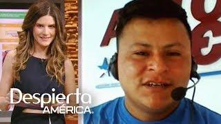 El guatemalteco Pedro Perabal pasa la prueba de idiomas que le pusimos