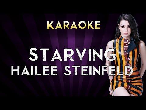 Hailee Steinfeld - STARVING | HIGHER Key Karaoke Instrumental Lyrics Cover Sing Along