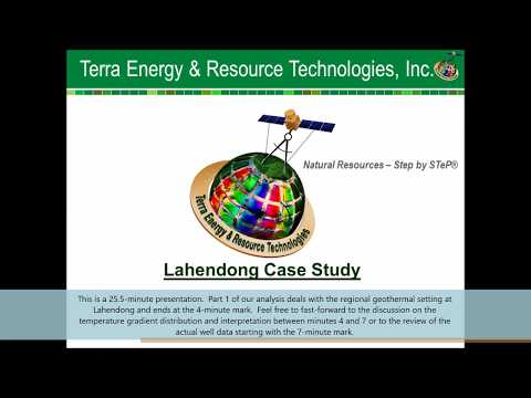 Lahendong Geothermal Site - Case Study and Presentation
