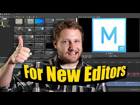 Guide for First Time Editors: Movie Studio 17 Platinum