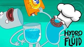 HIDRO y FLUIDO | VAMOS A COCINAR | Dibujos animados | WildBrain en Español