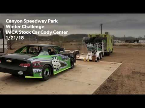 1/21/18 Canyon Speedway Park IMCA Stock Car