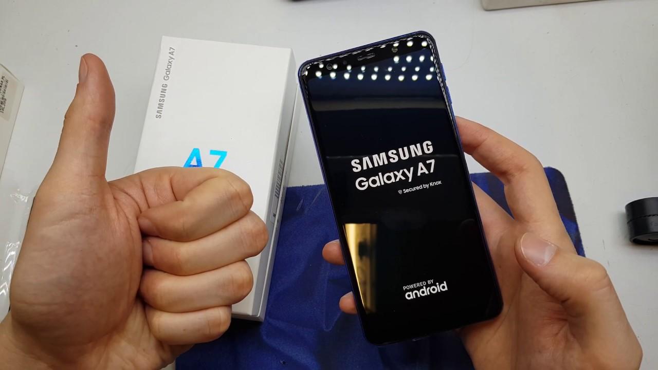Samsung Galaxy A7 (2018) HARD RESET | forget pattern lock password unlock