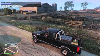 Grand Theft Auto 5 - GMC Sierra 2500 Extended Cab Mod! - REVIEW - GTA 5
