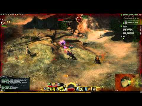 Lets Play Guild Wars 2   Living world story Ep 1