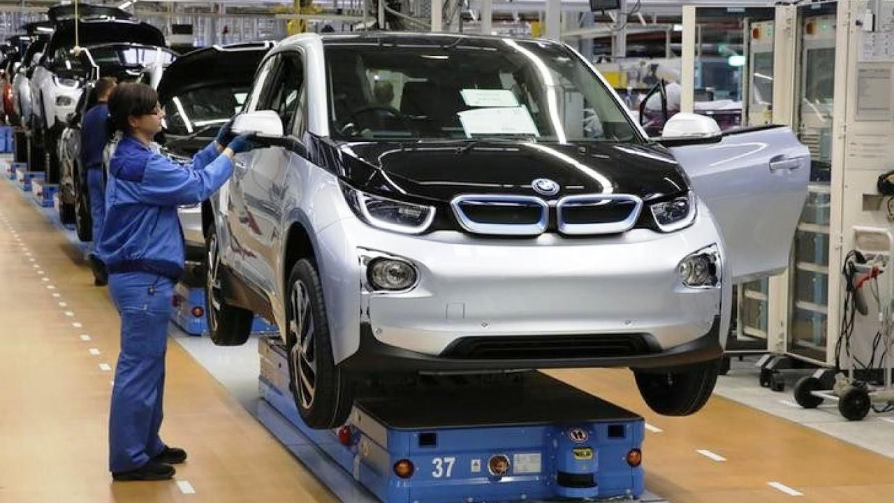Bmw I3 How It S Made Factory In Leipzig Youtube