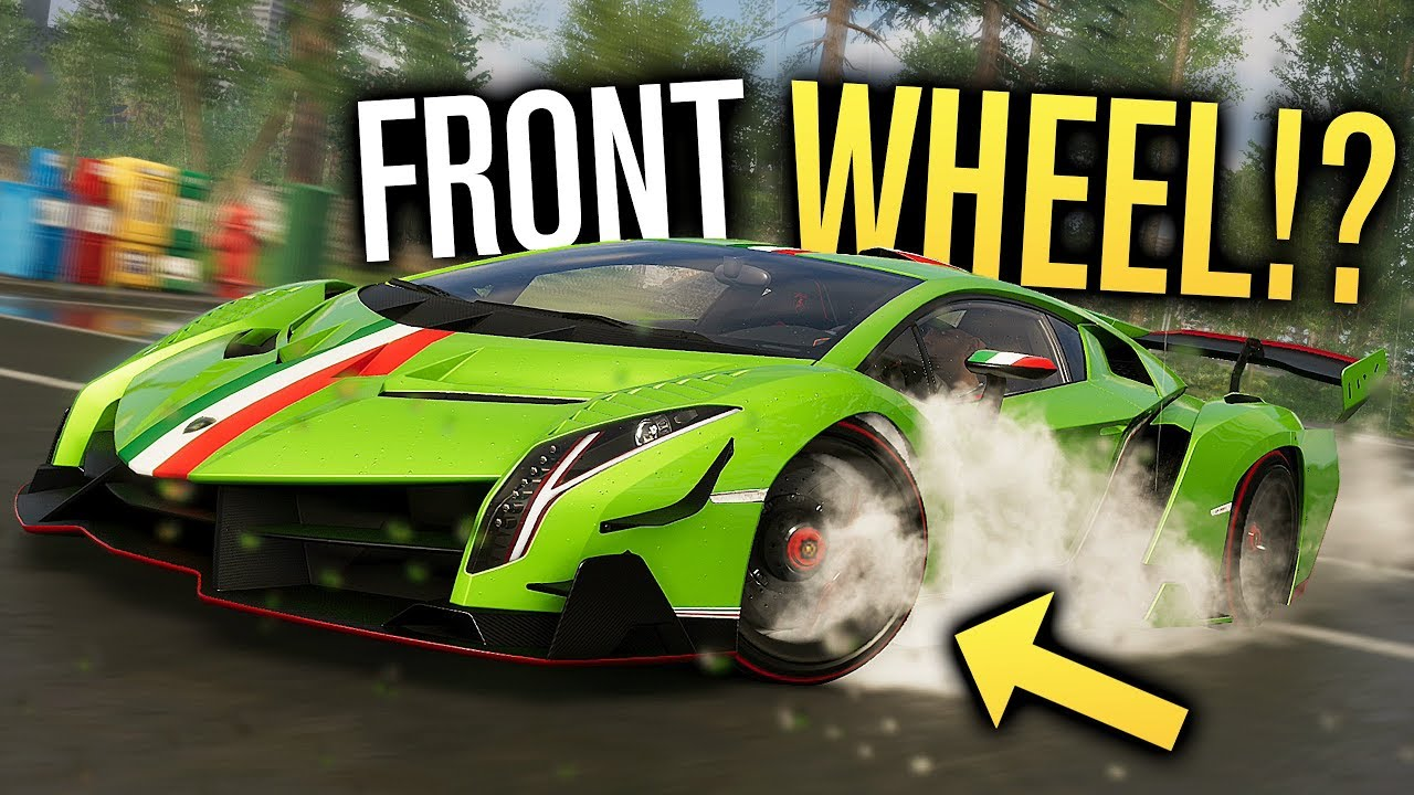 Front Wheel Drive Lamborghini Veneno In The Crew 2 Youtube