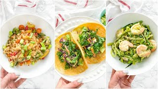 QUICK Dinner Recipes | healthy paleo recipes under 10 minutes!