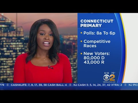 Connecticut Voters Narrow Gubernatorial Candidates In Tuesday's Primary