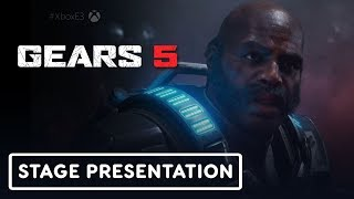 Gears 5 Escape Gameplay Presentation - E3 2019