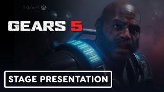 Gears 5 Escape Gameplay Presentation - E3 2019