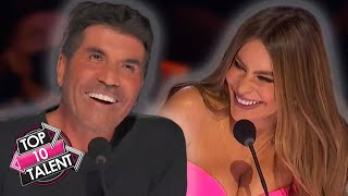 10 FUNNIEST Auditions On America's Got Talent 2021!