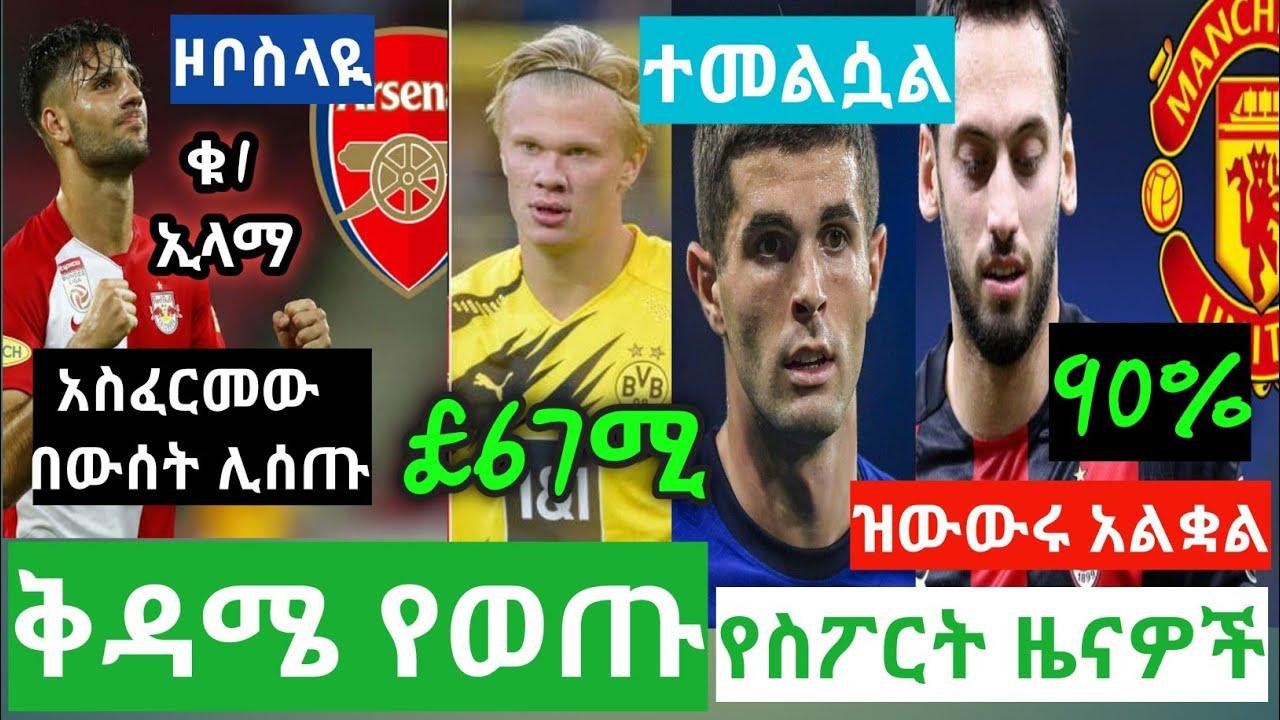 ቅዳሜ ህዳር 19/2013ዓ.ም የወጡ አጫጭር የስፖርት ዜናዎች (Ethiopian sport news)