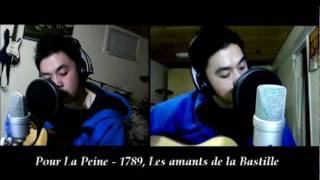 Pour La Peine - 1789, Les Amants de la Bastille (Acoustic Cover) with chords