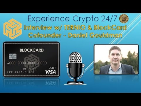 Interview w/ BlockCard Cofounder & CEO – Daniel Gouldman | Best Crypto VISA Debit Card on the Market
