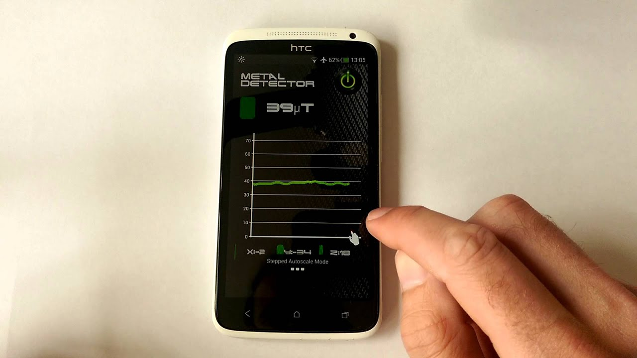 Metal Detector App for Android