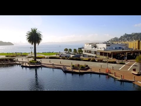 Tiburon for Business Meetings // Marin County // Aerial Drone Video