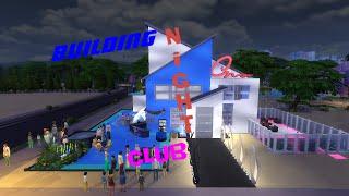 Sims 4 .Строительство Ночного клуба