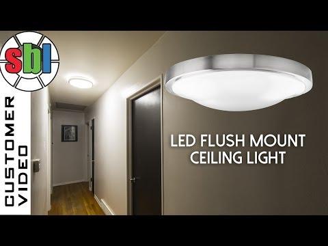 LED Flush Mount Ceiling Light Round LED Flush Mount Ceiling Fixture