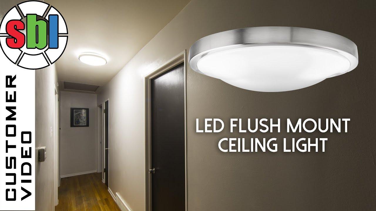 brushed nickel flush mount ceiling light soul speak designs flush mount kitchen lighting Led Flush Mount Ceiling Light Round Led Flush Mount Ceiling