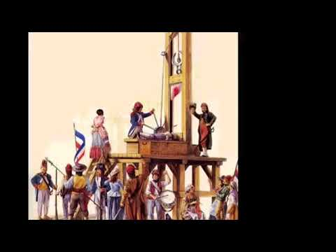 25th April 1792:  First Execution by GUILLOTINE