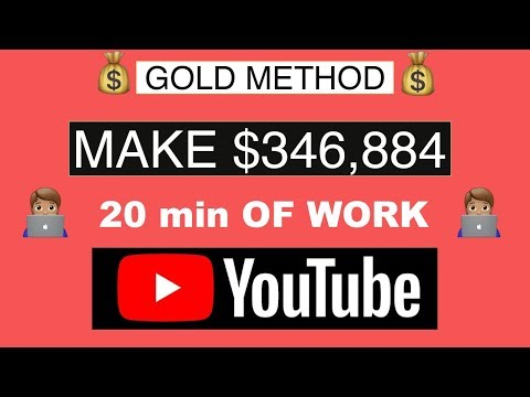 💸MAKE $346,884 ON YOUTUBE WITHOUT MAKING VIDEOS (MAKE MONEY ONLINE)