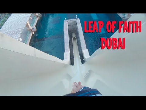 Leap of Faith Aquaventure Dubai, Free Fall Slide, Very unofficial Travel Guides